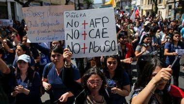 Pese a las protestas, muchos ven el sistema de pensiones AFP como eficiente.