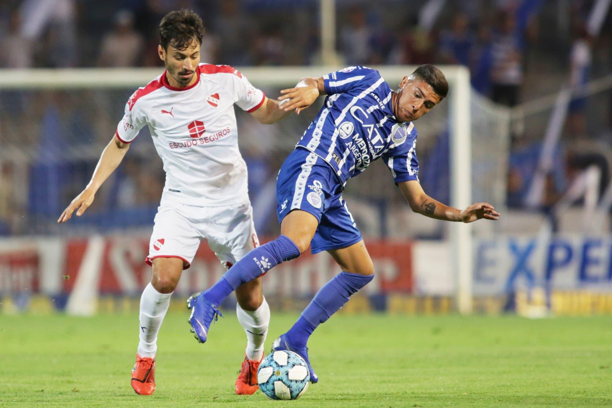 Godoy Cruz-Independiente, Superliga: el Rojo quiere consolidar el repunte en Mendoza
