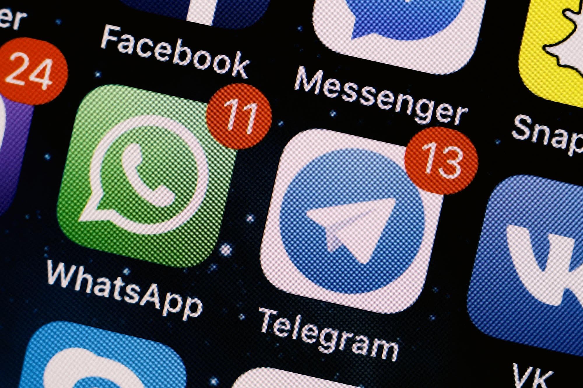 Chau WhatsApp: el dueño de Telegram recomendó desinstalar el chat de Facebook por sus graves fallas de seguridad