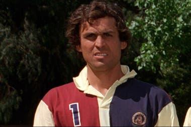 Rubén Sola, en sus tiempos de jugador, con la camiseta de Hurlingham