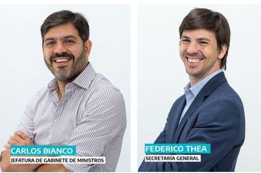 Bianco y Thea, los hombres de confianza de Kicillof para ocupar los cargos de Jefe de Gabinete y la Secretaría General