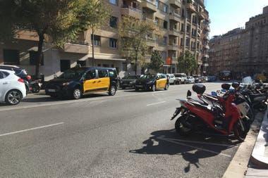 Una de las calles del barrio Sarrià