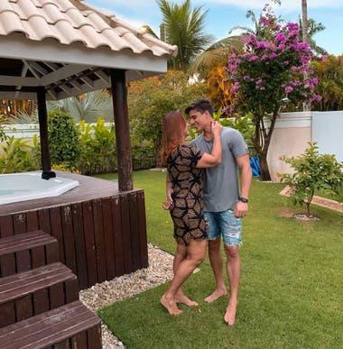 Nadine Gonçalves compartió hace dos semanas que estaba en pareja con Tiago Ramos