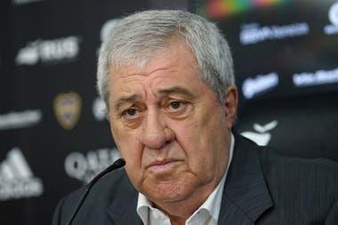 Jorge Ameal, presidente de Boca