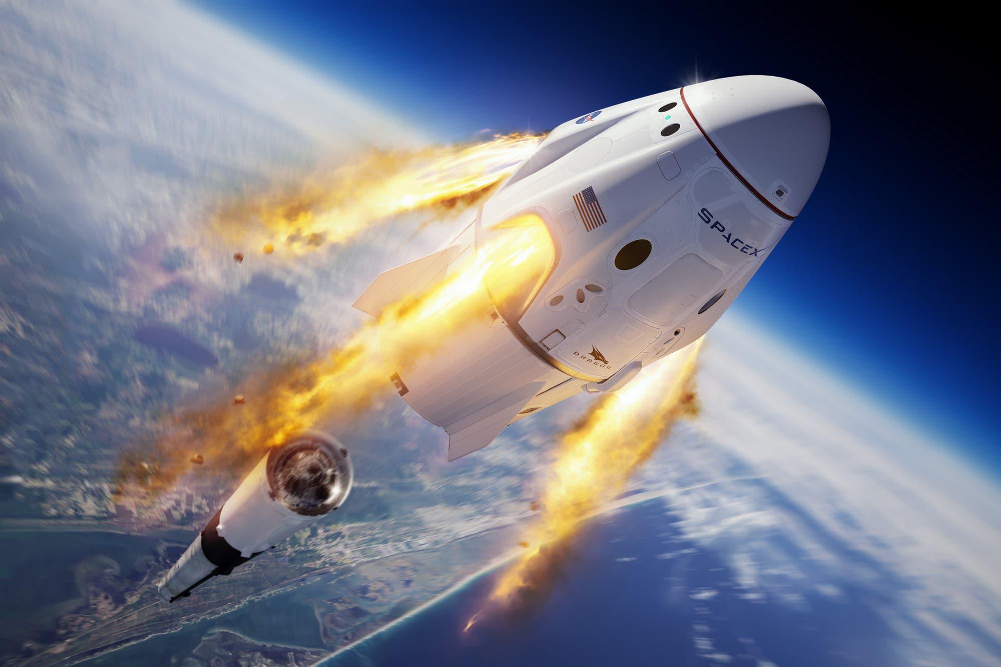 NASA y SpaceX: los dos inusuales objetos que deberá traer a tierra la Crew Dragon