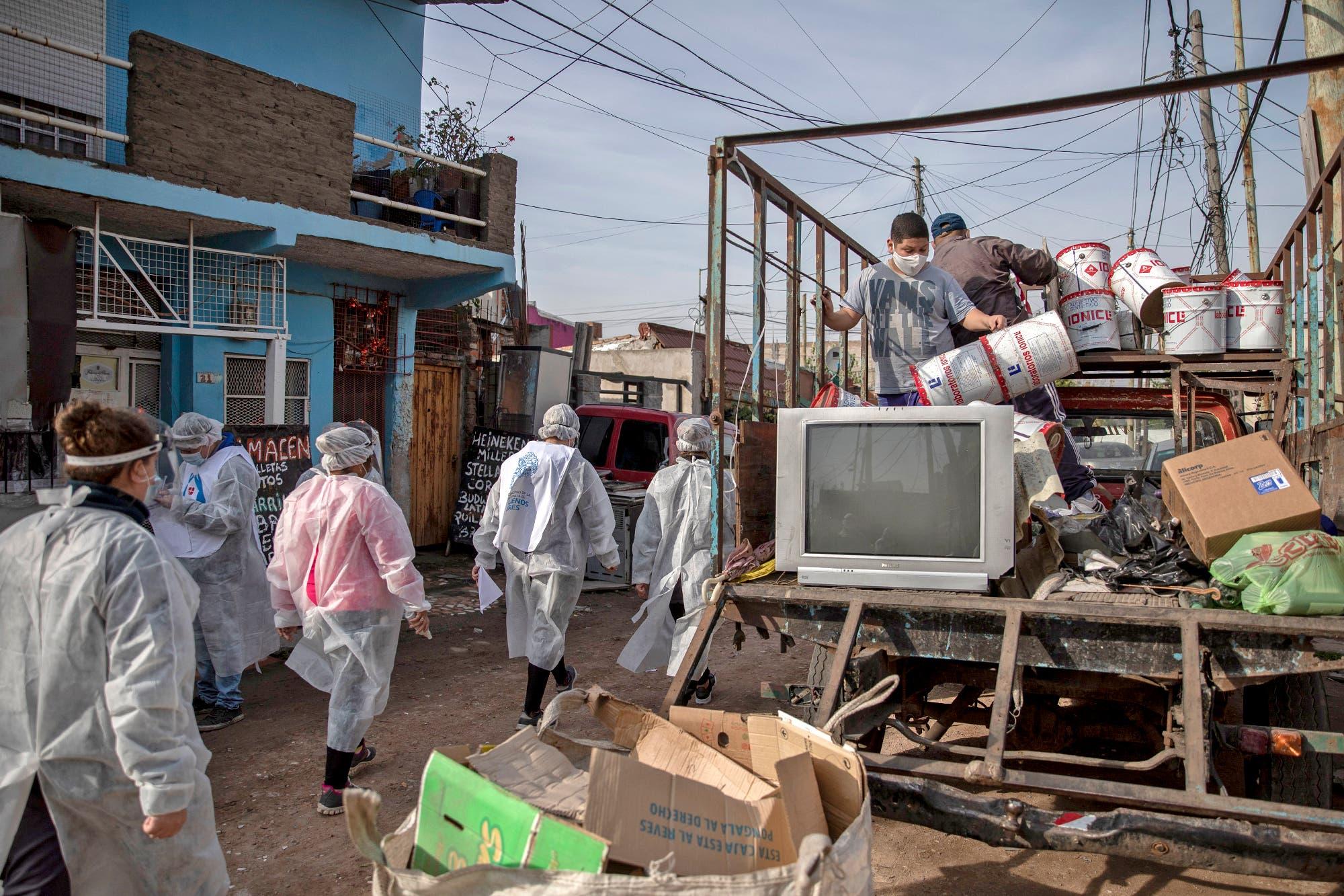 Coronavirus en la Argentina: casi el 20 por ciento de los contagios en la provincia se registra en barrios vulnerables y asentamientos