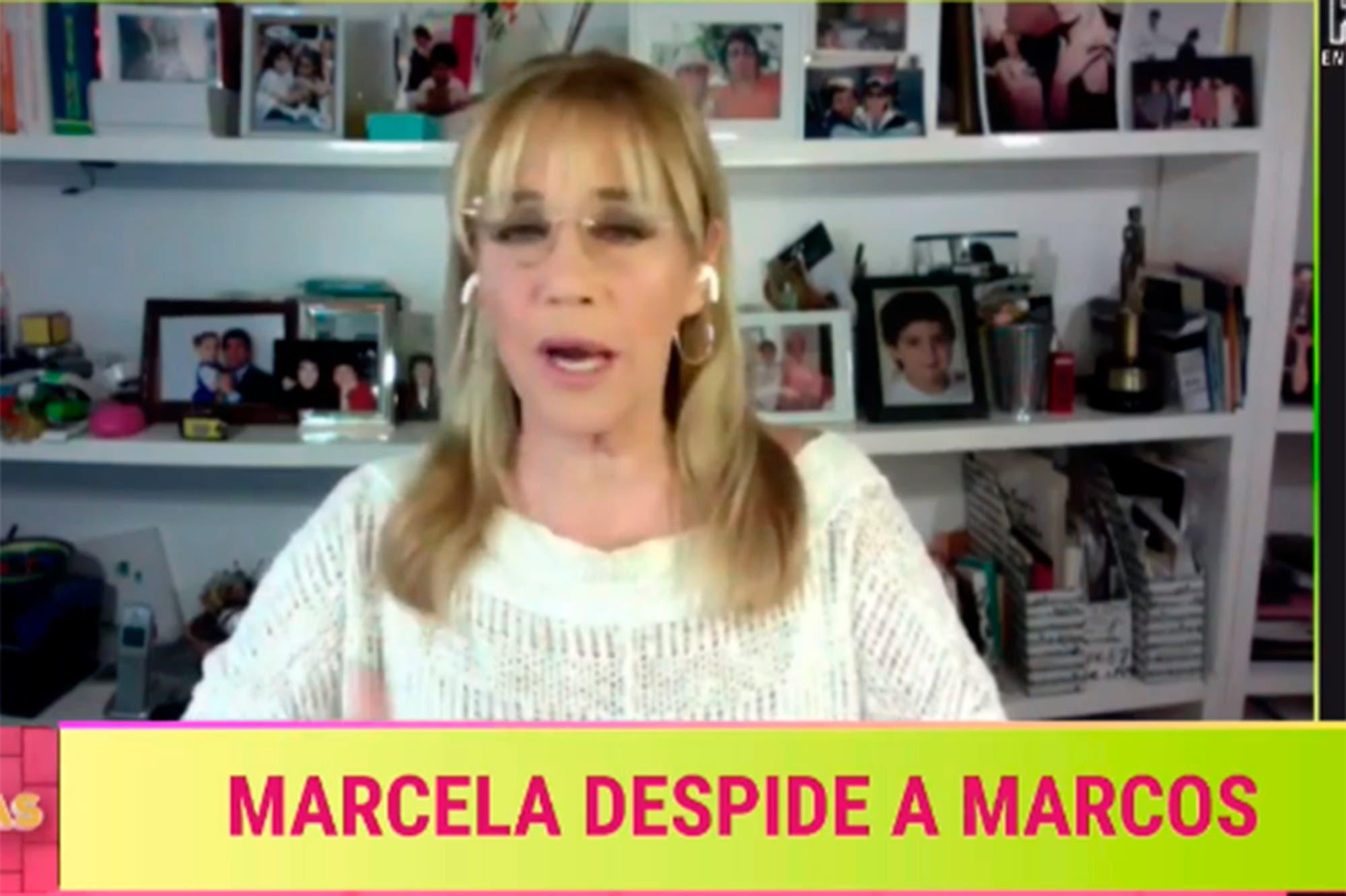 """La conmovedora despedida de Marcela Tinayre a Marcos Gastaldi: """"Fue un hombre al que amé profundamente"""""""