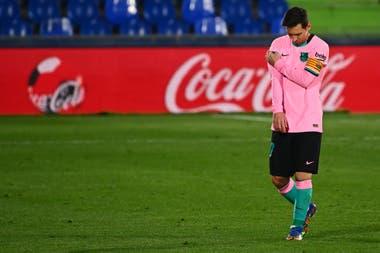 Si se habla de lo numérico, el rendimiento de Messi en Barcelona viene en declive en los últimos años