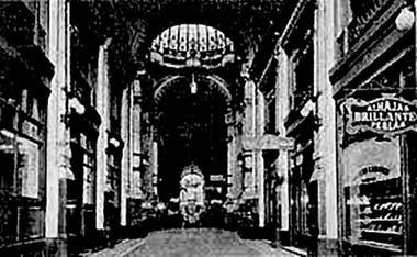 Antigua foto de la galería Güemes