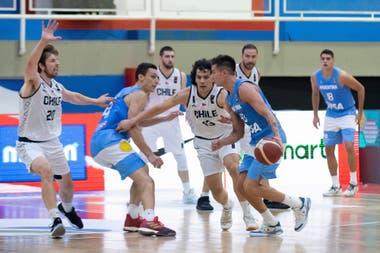 Modelo nacional: la selección argentina de básquetbol venció a Chile y se clasificó a la Americup con la marca de la Liga