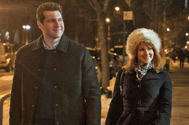 Billy Eichner y Julie Klausner en Difficult People