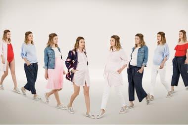 f555f5ecf Moda para embarazadas  ¿qué me pongo  Crédito  Mariana Roveda. Producción de  Mume Boskovich