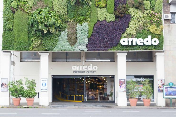 El jardín vertical de Arredo, en avenida Del Libertador