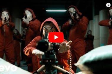 La imagen que aparece al buscar Despacito en YouTube