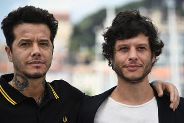 Socios y hermanos: Sebastián y Luis Ortega, durante el photocall de la película