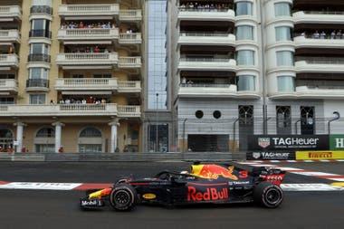Ricciardo fue el más veloz en Mónaco y se quedó con el primer lugar en el circuito callejero