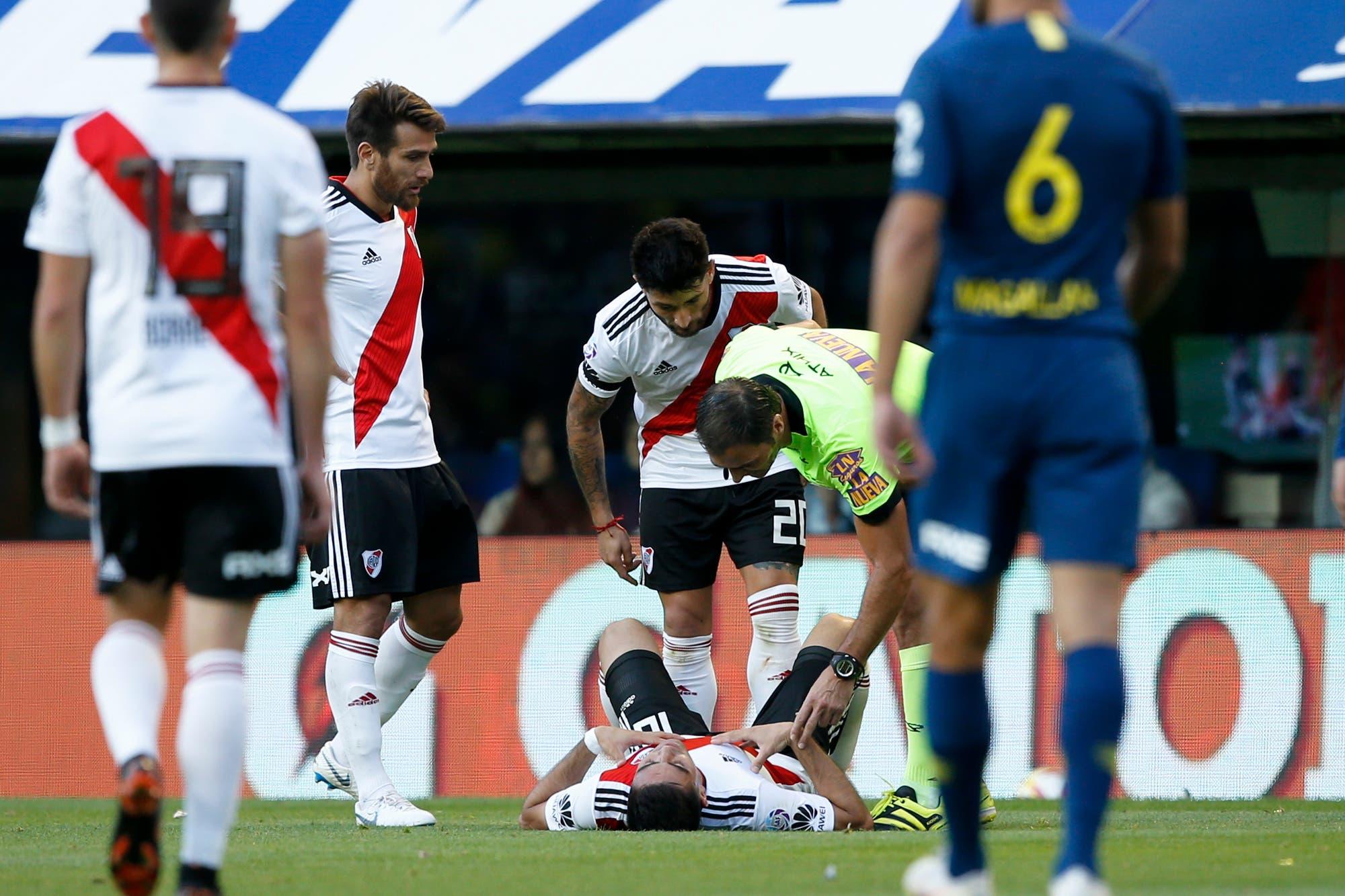 River sufre por Pity Martínez, que se pierde la revancha con Independiente: las variantes de Gallardo