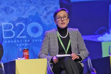 Delia Ferreira Rubio, presidenta de Transparencia Internacional