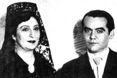Lola Membrives y García Lorca, en Madrid