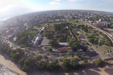 El predio en Corrientes donde se desarrolla el Plan Urbano Costero