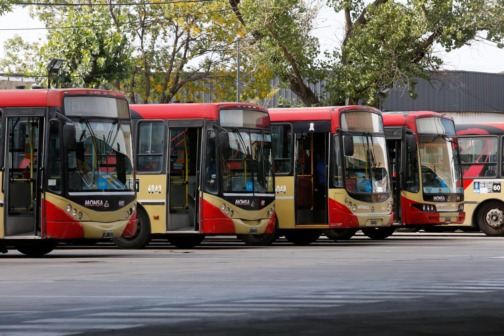 Los gremios del Transporte no prestarán servicios el 1° de mayo