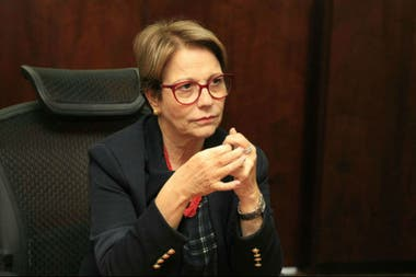 La ministra de Agricultura de Brasil, Tereza Cristina
