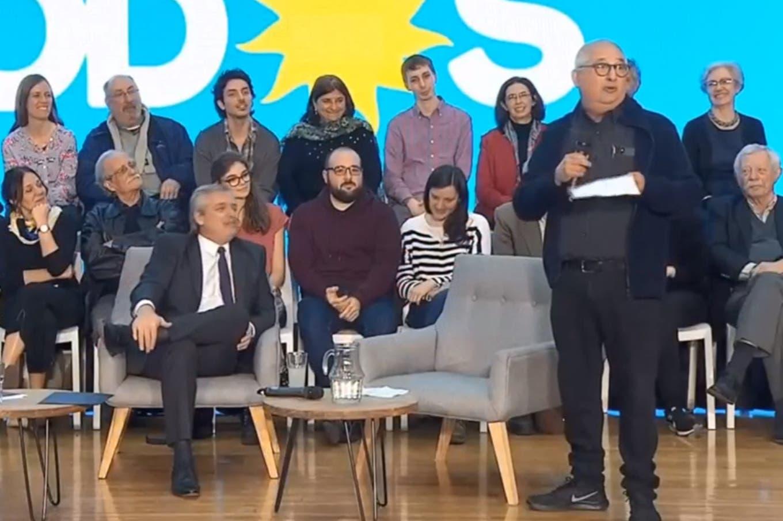 Video: la fórmula matemática de Adrián Paenza para que Alberto Fernández gane las elecciones