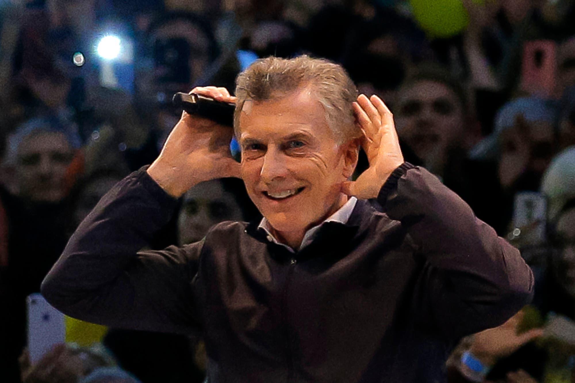 Macri en Córdoba: otro discurso eufórico entre cuartetos, Topo Gigio y pedidos de ir a votar