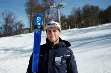 Los esquíes, parte de la vida de Vallecillo desde los 3 años