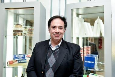 Diego Leal, de Bandex S.A. productora de productos plásticos