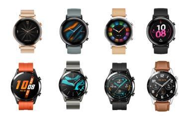 Las diferentes variantes de diseño del Huawei Watch GT2