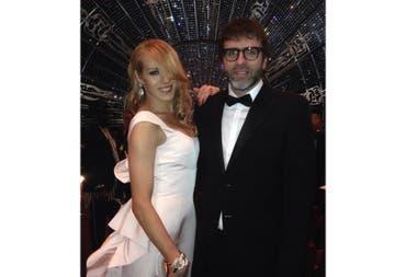 Mariana Genesio y Nicolás Giacobone, juntos en la entrega de los Oscar de 2015