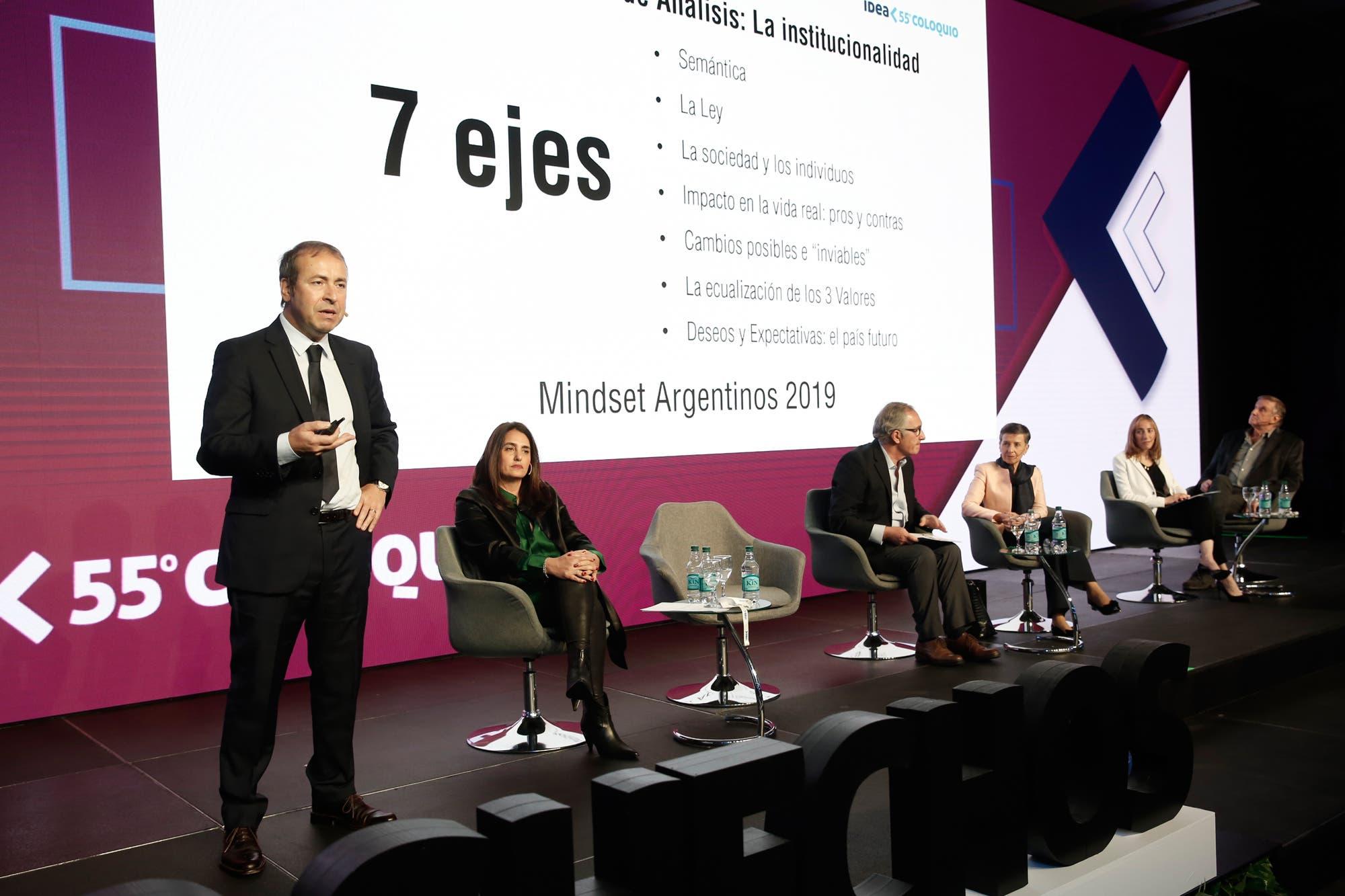"""""""Los argentinos y el cumplimiento de la ley"""", el debate que se abrió en el foro empresario"""