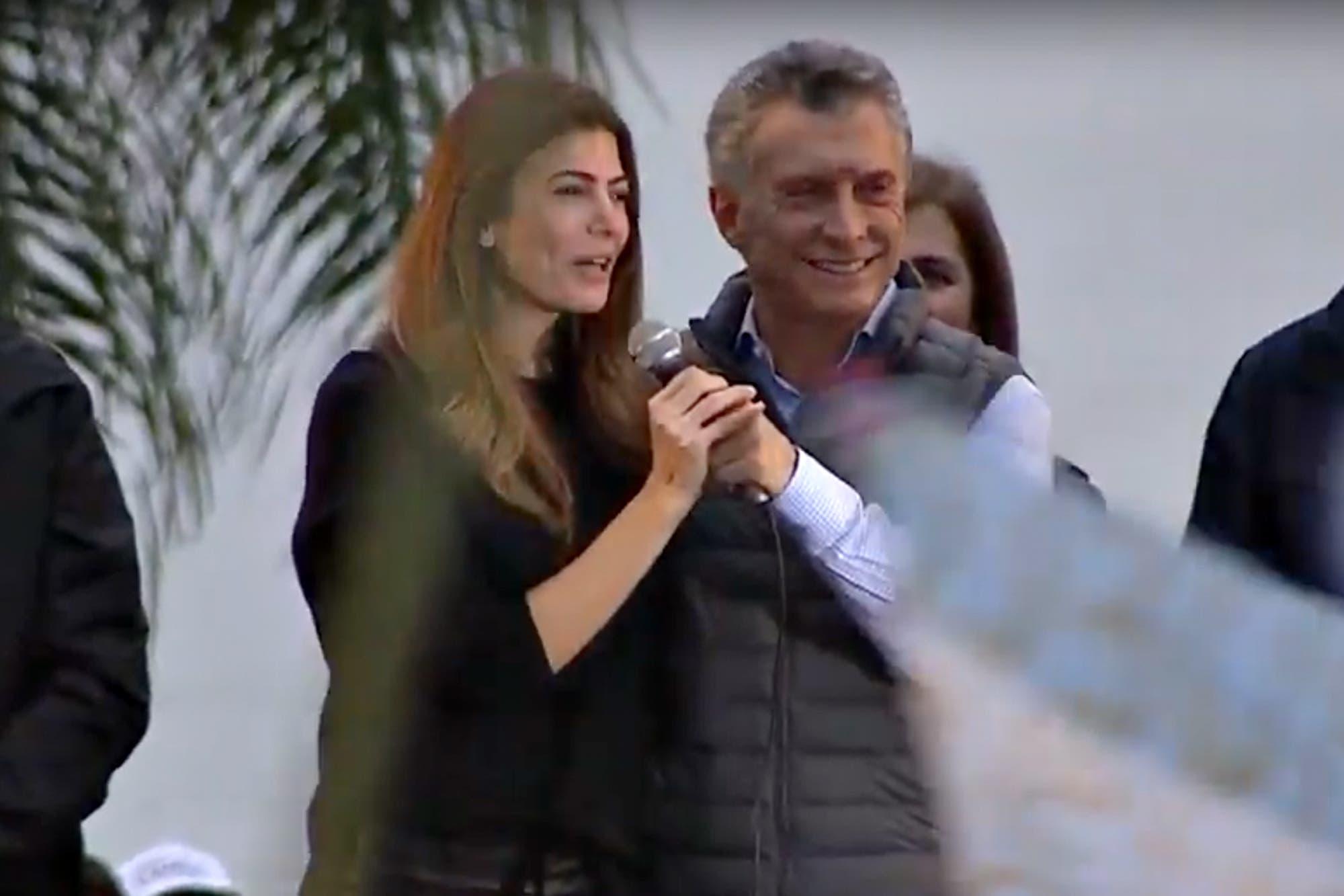 """El mensaje de Juliana Awada durante el """"¡Sí, se puede!"""" en Corrientes"""
