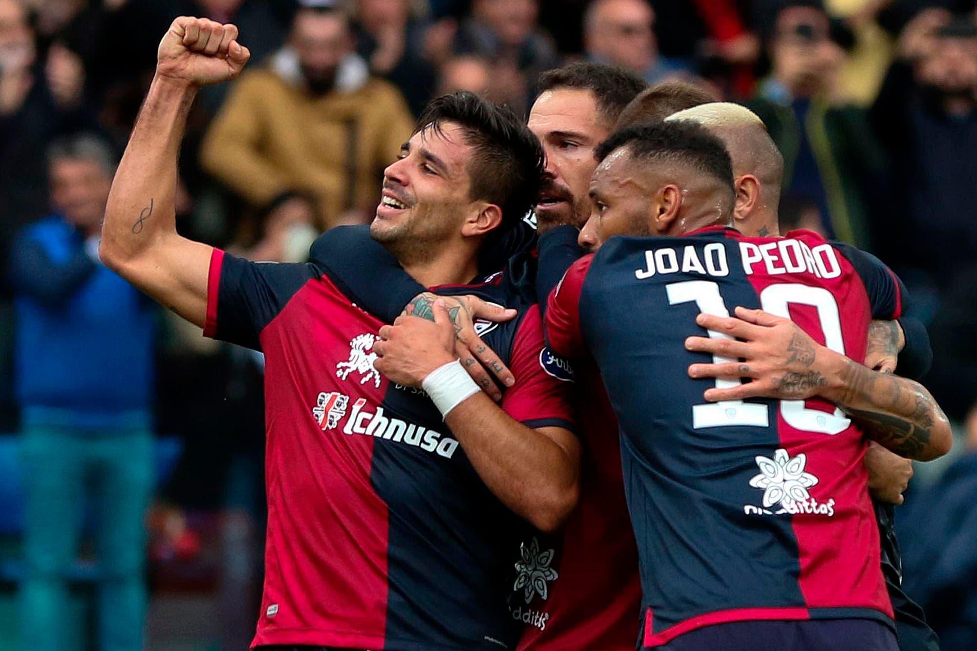 """Goles argentinos en Europa: los gritos de Gio Simeone, Angel y Joaquín Correa, """"Licha"""" Martínez y Paulo Dybala"""