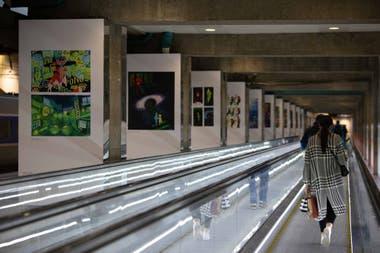 El dibujo toma los espacios públicos con diversas exposiciones en la ciudad