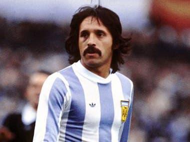 Leopoldo Luque fue el segundo artillero de Argentina en el Mundial 1978, con cuatro goles. Tiene 70 años.