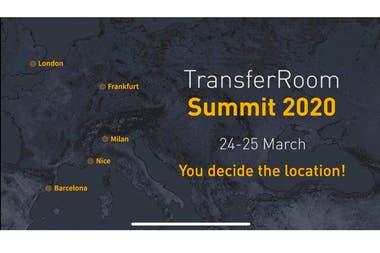 """TransferRoom: Cómo es la plataforma de """"citas rápidas"""" para negociar futbolista"""