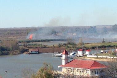 Hoy apareció un nuevo foco frente a San Pedro, en la provincia de Entre Ríos