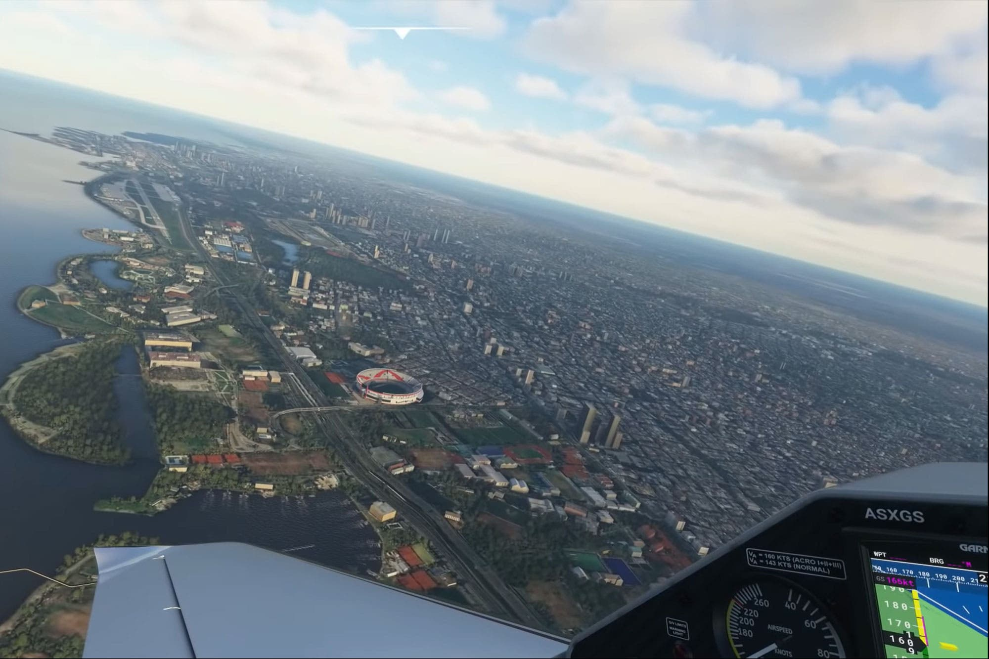 De Aeroparque a Ezeiza: así son las increíbles vistas aéreas de Buenos Aires desde el nuevo Flight Simulator de Microsoft