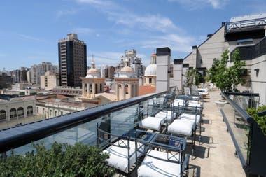 Vista abierta de la ciudad de Córdoba desde el hotel Windsor