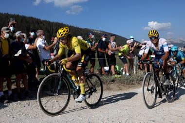 Roglic, el líder del Tour