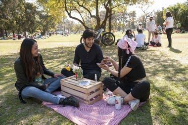 El restaurante Crioio organizó un pícnic pop up con reserva previa y tres turnos