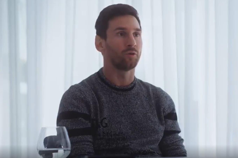 """Lionel Messi: """"No sé si me iré de Barcelona, y si me voy me gustaría que fuera de la mejor manera"""""""