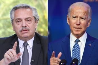 Alberto Fernández espera el alta médica para recibir al enviado de Joe Biden