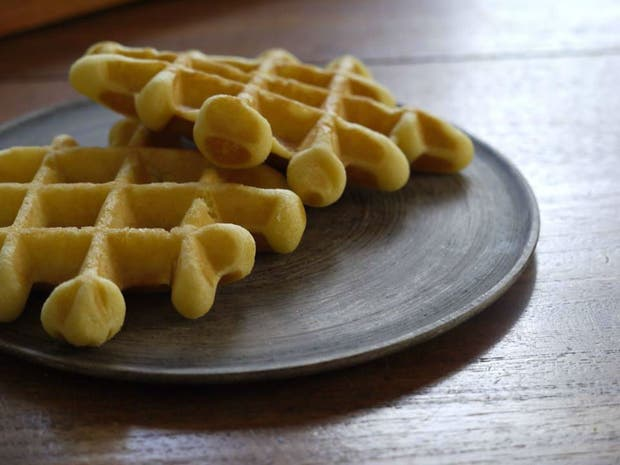 Receta de Waffles de vainilla