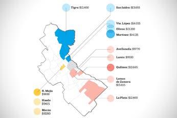 De Avellaneda a Tigre, cuánto cuesta alquilar un dos ambientes en el Conurbano