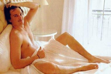 sexy o no? el ex de silvina escudero, martín amestoy, posó