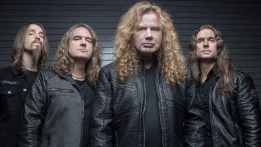 Megadeth, el plato fuerte de Monsters of Rock