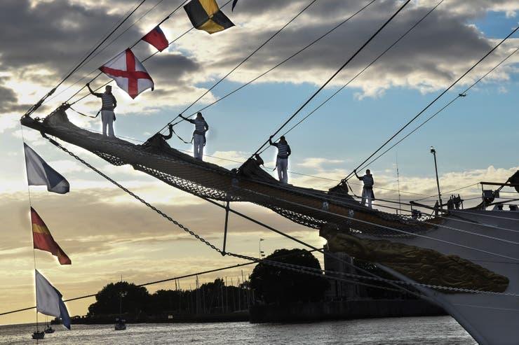 El itinerario de este 47° viaje de instrucción de la Fragata ARA Libertad incluye 19 puertos en la Argentina y otros once países